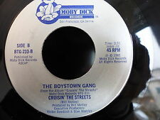 THE BOYSTOWN GANG Cruisin the streets / remember me / ain't no mountain.. BTG233