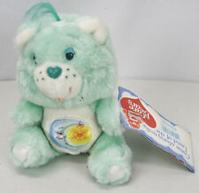 "Vintage 1983 Care Bears BEDTIME BEAR Small 6.5"" Stuffed Plush Toy NEW NWT NOS"