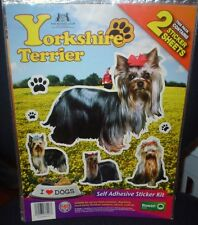 Yorkshire Terrier Dog Stickers Kennel Club