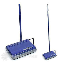 Dustcare Lightweight Cordless Blue Carpet & Hard Floor Sweeper Cleaner