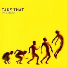 TAKE THAT Progress CD Album Polydor 274 847-4 2010