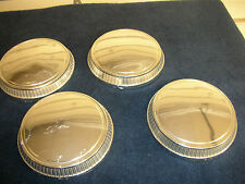Ford, Pinto Mercury Bobcat Ford Fairmont Dog Dish Hubcaps Set Of Four 1977-1983