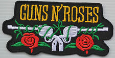 GUNS N' ROSES ROCK BAND LOGO MUSIC SEW EMBROIDERY HEAT IRON ON PATCH