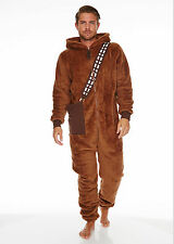 Chewbacca Star Wars Jumpsuit with Hood One size Suit Onesie neu