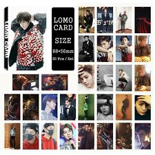 30pcs /set Super cute Kpop EXO LUHAN Photo Picture Poster Lomo Cards