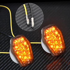 Custom Smoke LED Flush Mount Turn Signal Blinker Marker Fit For Suzuki GSXR 600