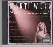 (ES884) Marti Webb, Performance - 1993 CD