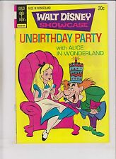 Walt Disney Showcase #22 VF- june 1974 unbirthday party with alice in wonderland