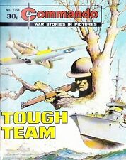 Commando For Action & Adventure Comic Book Magazine #2254 TOUGH TEAM
