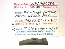 WINCHESTER 94 POST 64. (FRONT SIGHT RAMP) (J-2126)