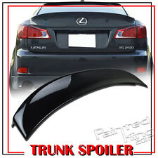 Painted For LEXUS W Type IS250 IS350 IS300h IS250 F ABS Rear Trunk Spoiler Wing