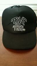 Volcom True to This Black Snapback Trucker Mesh Baseball Hat Cap Otto Collection