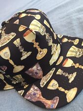 CROOKS AND CASTLES HOLY GRAIL SNAPBACK HAT IN BLK !!! NEW !!!