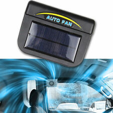 New Solar Sun Powered Power Window Fan Ventilator Auto Cool Air For Car Vehicle