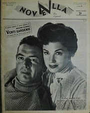 * NOVELLA N°3 ANNO XXXV °17/GEN/1954 : ESTER WILLIAMS e VICTOR MATURE- V. BETTIS