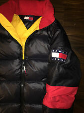 Rare Vintage Tommy Jeans Tommy Hilfiger Ski Snow Down Puffer Jacket size small