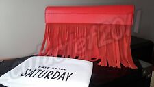 SALE! Kate Spade Saturday HIGH RISK RED The SWAY CLUTCH NEW WITH TAGS!