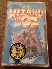 The Wizard Of Oz Orig. Cast Album Cassette 50th ANNIVERSARY Judy Garland RARE