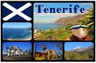 TENERIFE - SOUVENIR NOVELTY FRIDGE MAGNET - BRAND NEW - GIFT / XMAS