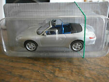 DeAGOSTINI PORSCHE 911 CARRERA COUPE IN SILVER 1 :43 SCALE STILL SEALED