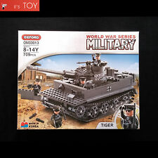 Oxford Block TIGER OM33013 World War Series Military Tank Bricks Building Toy