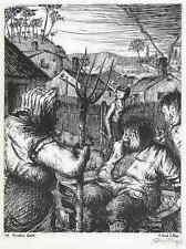Cervantes don quijote-Werner aire 1940-juráis mujer-autografiada