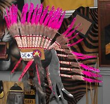 #29b Quality Native American Indian Chief Feather war bonnet Headdress 1 size