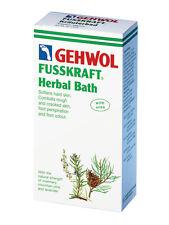 Gehwol Herbal Baño eficaz contra áspero y quebradizos Piel Pie olor 400g