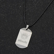 Bangtan Boys Necklace Kpop Jewelry Accessory Pendant Adjustable BTS Fans Gift