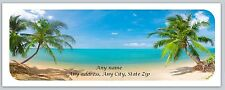 30 Personalized Return Address Labels Scenic Beach Buy 3 get 1 free (c773)