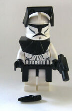 LEGO Star Wars CLONE COMMANDER Minifigure from 8014 8098 7675 10195 Black Armor