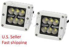 White LED WORK LIGHT 18W F150 F250 F350 Truck Reverse Back up off road light