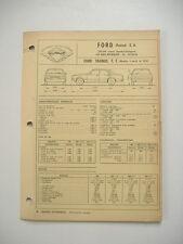 fiche technique  L'EXPERT AUTOMOBILE -FORD TAUNUS T.T. modèle à partir de 1976