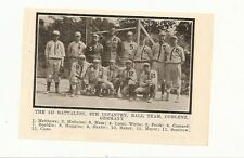 8th Infantry 3D Battalion Baseball Coblenz Germany 1920 Team Picture