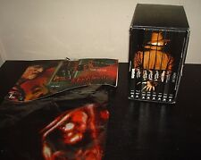 A Nightmare On Elm Street Freddy Krueger Door Cover Sound Activated + 8 DVD Set