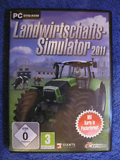 PC DVD ROM juego agrícola simulador 2011 (PC, 2010, DVD-box)