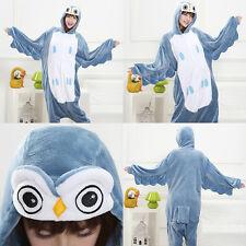 Adult Kid Kigurumi Pajamas Onesie One Piece Animal Costume Pyjamas Pjs Sleepwear