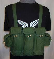 ORIGINAL VIETNAM WAR CHINESE TYPE 56 AK CHEST RIG AMMO MILITARY POUCH