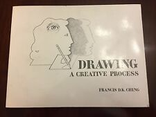 Paperback book Drawing : A Creative Process by Francis D. K. Ching 1990