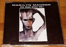 Marilyn Mansun,The Dope Show Cd 1, Pre Owned Cd single,Excellent Condition