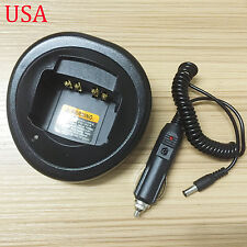 12V Car Charger Base for Motorola HT750 HT1250 GP328 PTX900 PTX960