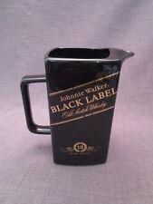 """beau pichet publicitaire""""whisky BLACK LABEL""""en faience"""
