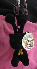 1 Neopets Plushie Clips  Shadow Aisha key Chain NWT