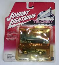 Johnny Lightning 2001 Tri-Chevy Collection 1956 Chevy Bel Air Green