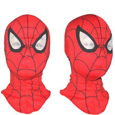 Kids Cosplay Super Hero Spiderman Mask Adult Fancy Dress Costume Accessory B