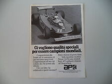 advertising Pubblicità 1979 AP LOCKHEED e FERRARI 312 T4