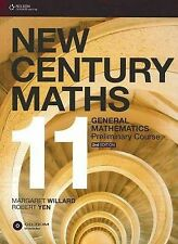 Used Book:  New Century Maths 11 General Student Book and CD