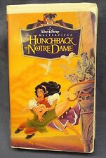 Walt Disney The HUNCHBACK of NOTRE DAME VHS Tape Masterpiece Collection 7955