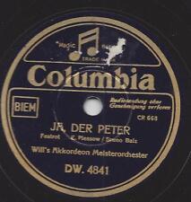 Orchester  Will Glahe spielt Bruno Balz : Ja der Peter