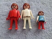 1974 GEOBRA FIGURES W/ 1981 CHILD FIGURE - 3 TOTAL